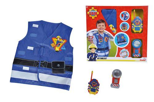 Kit de pompier Simba Sam le pompier