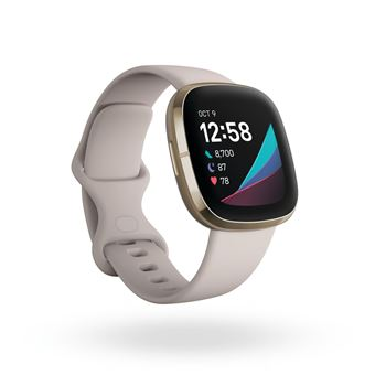 Photo de fitbit-sense-or-blanc
