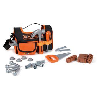 Playset Smoby Black + Decker Caisse à outils en tissu
