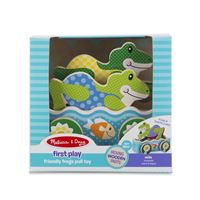 Jouet à tirer Melissa & Doug First Play Friendly Frogs