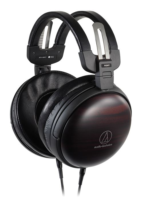 Casque d'écoute circum-aural Audio-Technica ATH-AWKT Marron