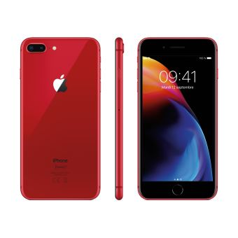 apple iphone 8 plus 64 go 5 5 39 39 rouge smartphone achat prix fnac. Black Bedroom Furniture Sets. Home Design Ideas