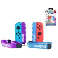 Poignées de confort avec dragonne Subsonic Just Dance 2019 pour Nintendo Switch JoyCon