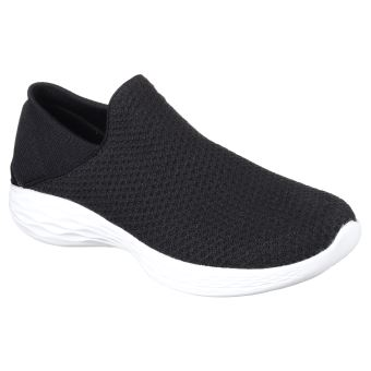 the best attitude 43f9b b7950 Chaussures Femme Skechers You Noires Taille 36