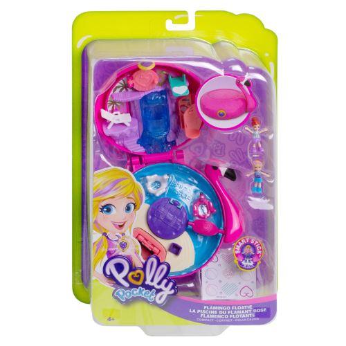 Playset Polly Pocket La piscine du flamant rose