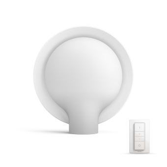 Lampe A Poser Philips Hue White Ambiance Felicity Blanche Avec