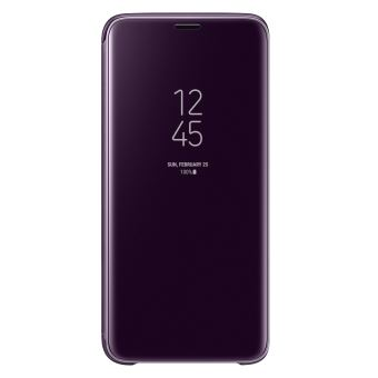 SAMSUNG S9 CLEAR VIEW STANDING COVER PURPLE