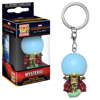 Funko Pop! Porta-Chaves Spider-Man Far From Home: Mysterio