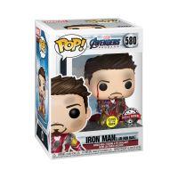 Figurine Funko Pop Marvel Avengers Endgame I Am Iron Man Metallic Glow in the Dark