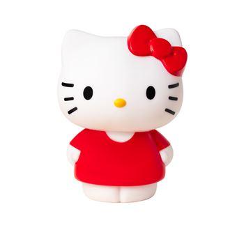 Lampe LED Teknofun Hello Kitty 25cm Blanc et Rouge