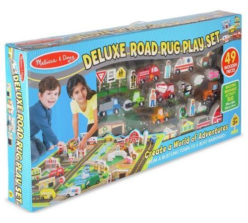 Playset Melissa & Doug Tapis de routes Deluxe