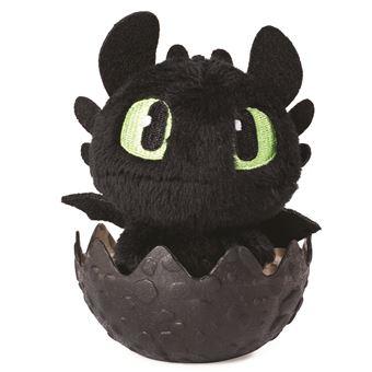 Peluche Dans Son Oeuf Dragons Modèle Aléatoire Animal En Peluche Achat Prix Fnac