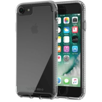 Coque Tech21 Pure Clear Transparente pour iPhone 7 et iPhone 8