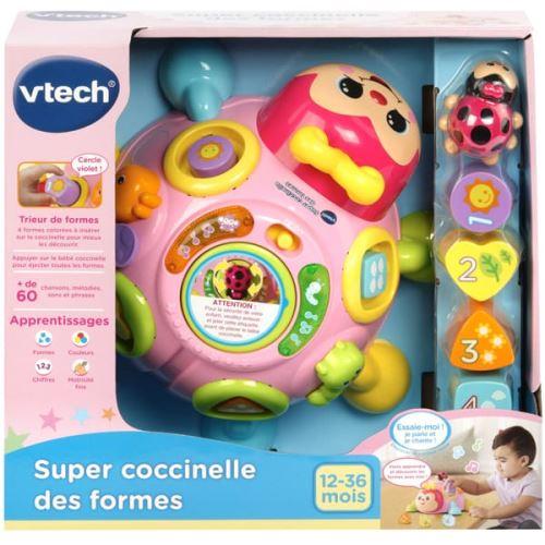 Jeu éducatif Baby Super coccinelle des formes Rose Vtech