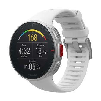 Montre GPS Multisports Polar Vantage V Blanc Taille M avec Capteur de  fréquence cardiaque H10 6919e98e937