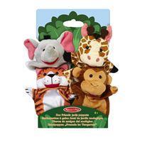 Marionnettes à gaine Melissa & Doug Amis Du Jardin Zoologique