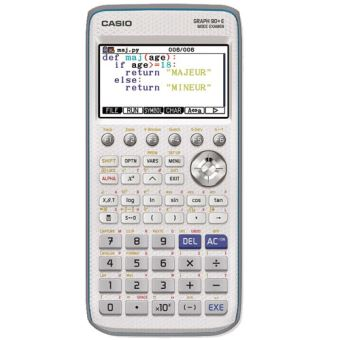 Calculatrice scolaire Casio Graph 90+E