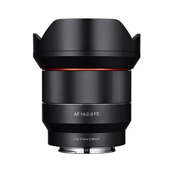 Objectif Hybride Samyang 14 mm f/2.8 AF Noir pour Sony FE