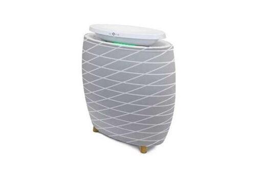 Pré-filtre Lignes grises Air and Me pour purificateur d'air Lendou Gris