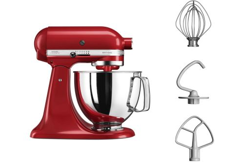 Robot pâtissier KitchenAid Artisan 5KSM125EER 300 W Rouge Empire