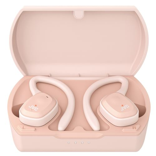 Ecouteurs sans fil Sport Bluetooth JVC HA-ET45T-P-U True Wireless Rose