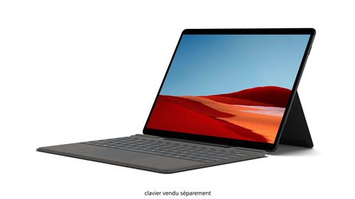 "PC Hybride Microsoft Surface Pro X 13"" Microsoft® SQ2™ 16 Go RAM 256 Go SSD 4G+ Noir"