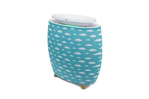 Pré-filtre Nuages Air and Me pour purificateur d'air Lendou Bleu