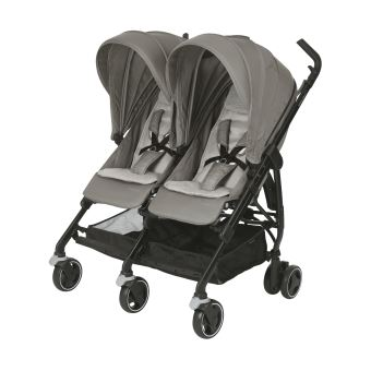 Poussette double Bébé Confort Dana For2 Gris