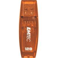 Clé USB 2.0 Emtec 128 Go Orange