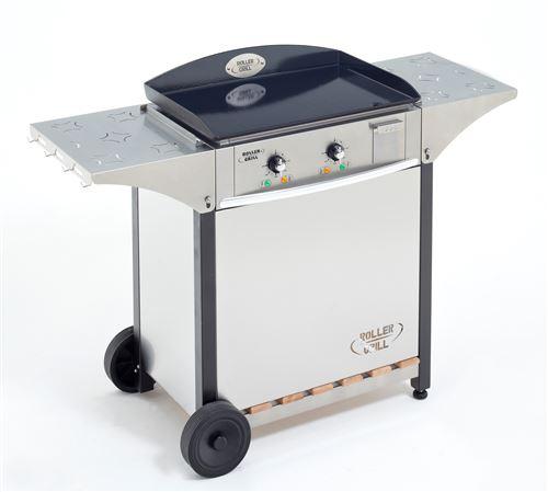 Ensemble Plancha électrique Roller Grill Riviera 600 3500 W Argent