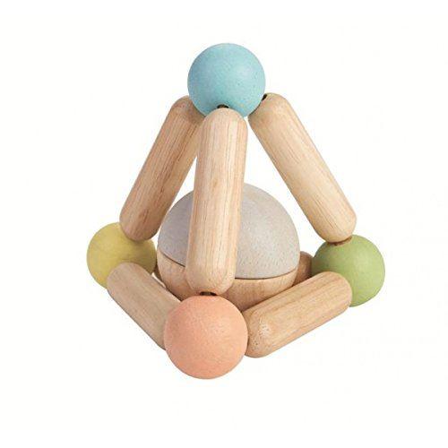 Hochet Plan Toys Pastel Triangle