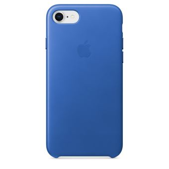 APPLE IPHONE 8/7 LEATHER CASE ELECTRIC BLUE