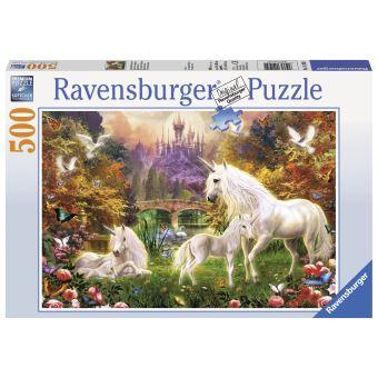 Puzzle Ravensburger Les licornes magiques