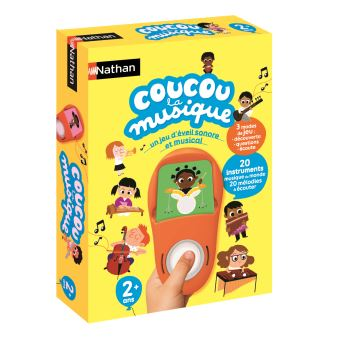 -3€18 sur Jeu éducatif Nathan Coucou La musique - Jeu ...