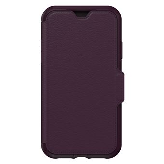 huge selection of c54fe d8ad3 Etui folio en cuir OtterBox Strada Violet pour iPhone XR