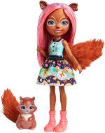 Mini poupée Sancha Ecureuil Enchantimals 15 cm