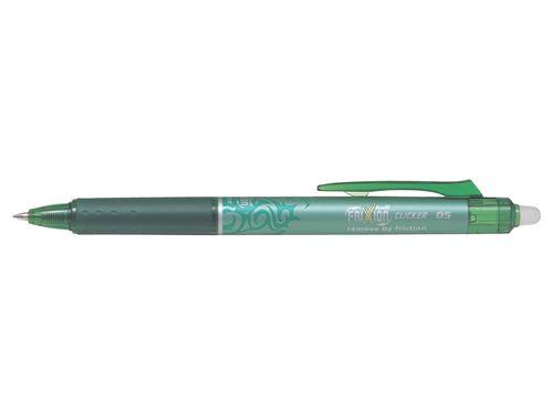 Stylo roller Pilot Pen Frixion Clicker 05 Vert