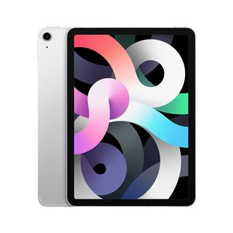 Photo de apple-ipad-air-4e-generation-argent-256-go-wi-fi-cell
