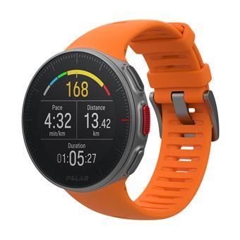 Montre GPS Multisports Polar Vantage V Orange Taille M avec Capteur de fréquence cardiaque H10