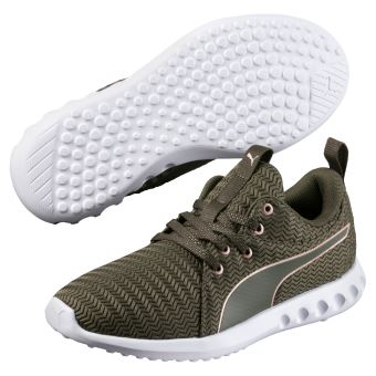 chaussures puma femme verte