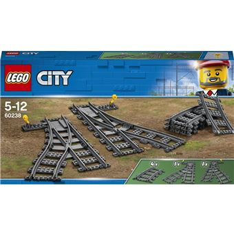 LEGO® City Trains 60238 Les Aiguillages