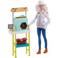 Coffret Barbie Métiers Apicultrice
