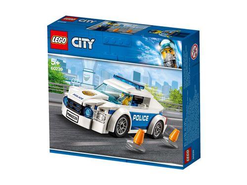 LEGO® City Police 60239 La voiture de patrouille de la police