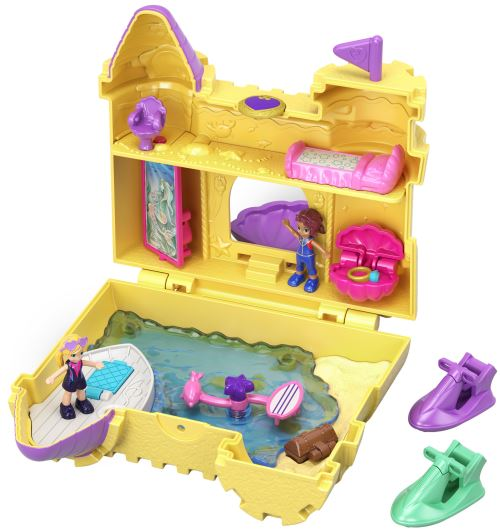 Playset Mattel Polly Pocket Le château de sable