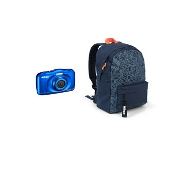 Nikon Coolpix W150 Waterdicht Compacte Camera Blauw + Zak