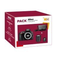 Fnac Pack Nikon D5600 Reflex Behuizing + AF-S DX 18-140mm ED VR Lens + 16GB SD-Kaart + Draagtas