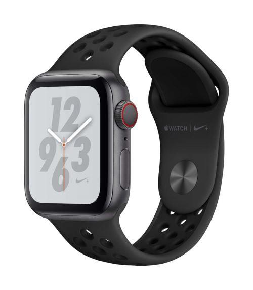 Apple Watch Series 4 Nike+ Cellular 40 mm Boîtier en Aluminium Gris sidéral avec Bracelet Sport Nike Anthracite et Noir - Montre connectée. Remise permanente de 5% pour les adhérents. Commandez vos produits high-tech au meilleur prix en ligne et retirez-l