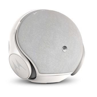 Enceinte Motorola Sphère avec casque Bluetooth intégré Blanc