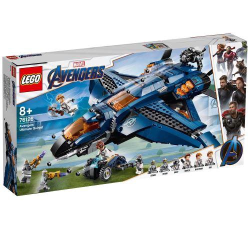 LEGO® Marvel Avengers 76126 Le Quinjet des Avengers