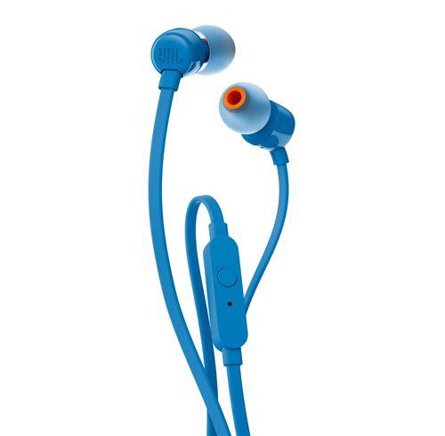 Ecouteurs filaires intra-auriculaires JBL Tune 160 Bleu